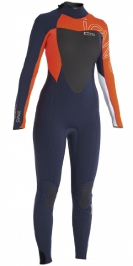 Гидрокостюм ION Wetsuit BS Strike Semidry 4.5 DL grey/orange 102/LT
