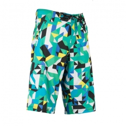 Boardshort Noise green/blue S