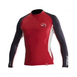 Prolimit Rashguard Classic Hydro LA long arm L red лайкра длинный рукав