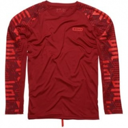 ION SW Wetshirt LS Escher biking red 56/XXL / лайкра