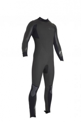 ION Wetsuit BS Riot Semidry 4,5 DL black/grey 56/XXL
