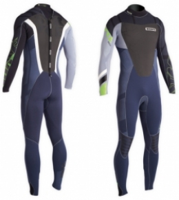 ION Wetsuit BS Element Semidry SS12 5/4 bk/yellow 102/LT